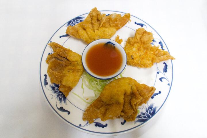 Raviolis wantun frits ( 4 pièces )