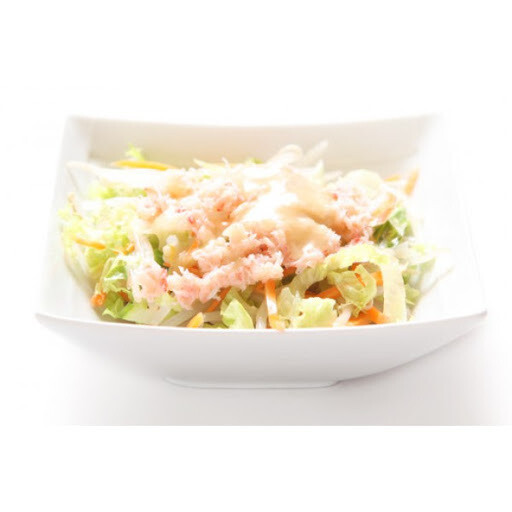 Salade chinoise au crabes