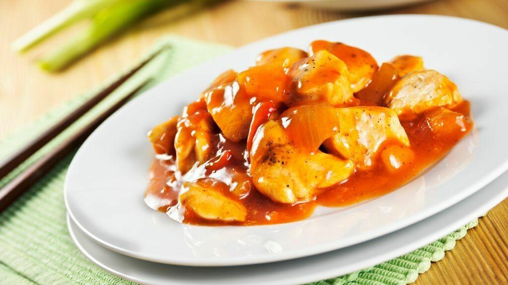 Poulet à la sauce aigre-doux