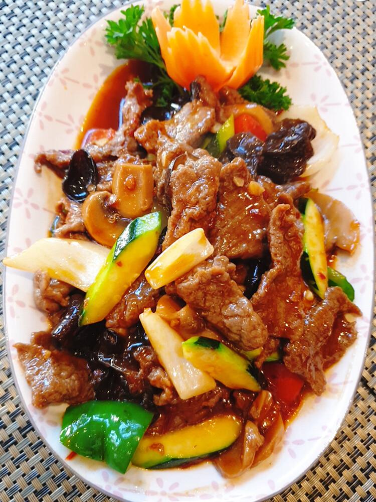 Porc piquantes à la mode de szetchuan