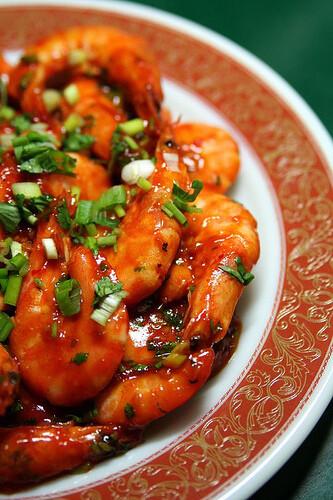 Crevettes piquante à la mode de szetchuan