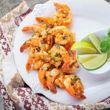 Crevettes à l'ail et au poivre blanc