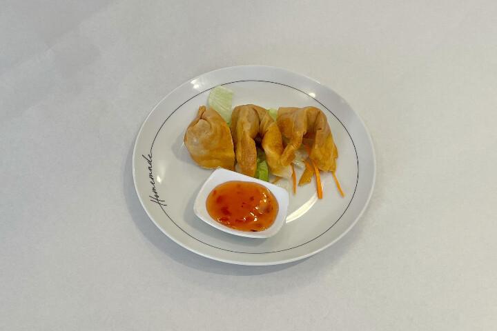 Raviolis frits aux crevettes (3 pièces)