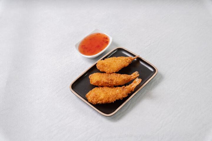 Beignets de crevette (3 pièces)
