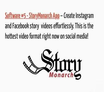 Story Monarch Video App