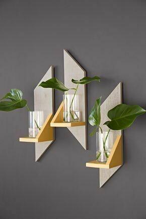wooden decorative shelves (Set of 3)