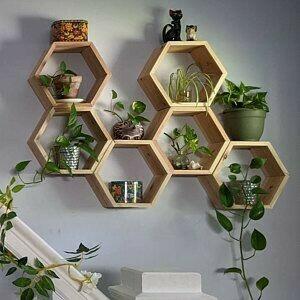 honeycomb shelves (Set of 5)