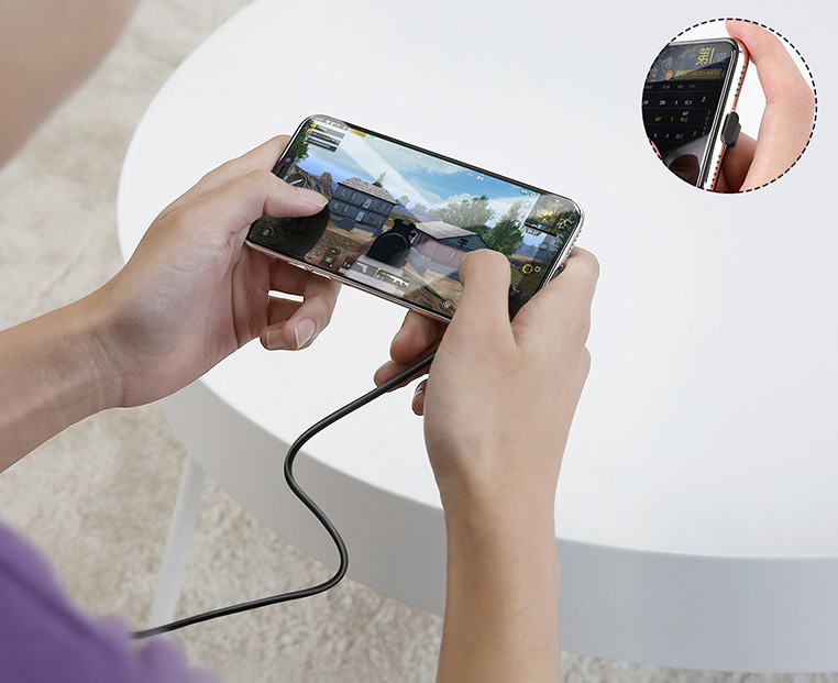 Baseus Suction Cup Mobile Games Charger