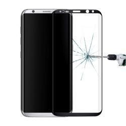 Panzerglas Samsungs Galaxy S8 Schwarz