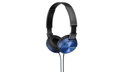 SONY MDR-ZX310R - Kopfhörer (On-ear, Blue)