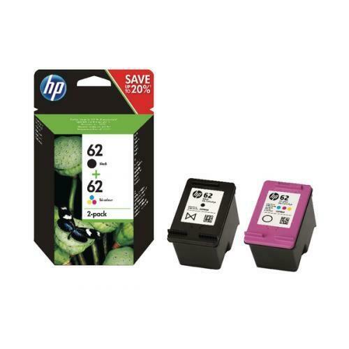 HP 62 Tri-colour 2-Pack