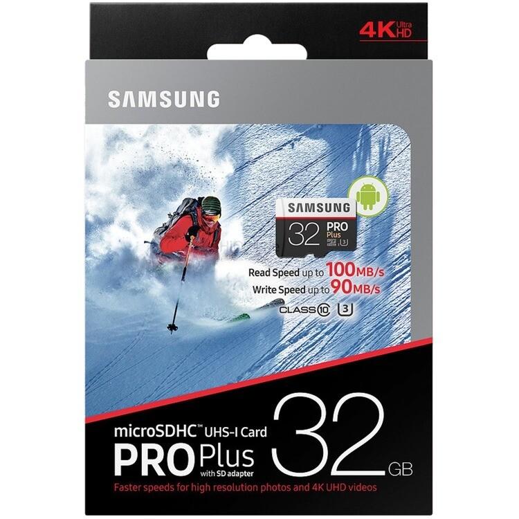 Samsung MicroSDHC 32GB 90MB/S