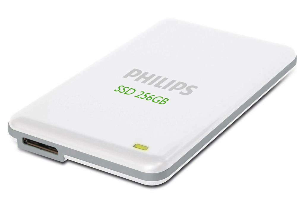 PHILIPS 256 GB Portable SSD