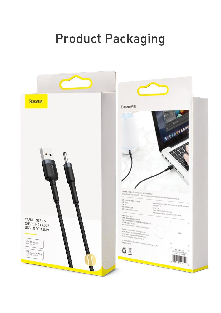 Baeus USB To DC3.5mm