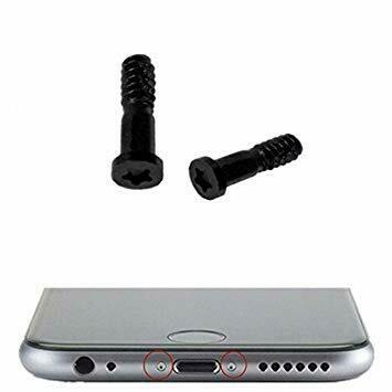 iPhone 6/6 Plus/6S/6S Plus Gehäuse Schrauben in Schwarz