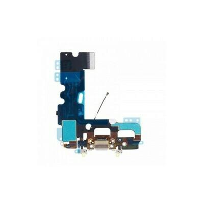 Flex mit Lighning-, Kopfhörer Anshluss und Mikrofon für iPhone 6S Plus Weiss