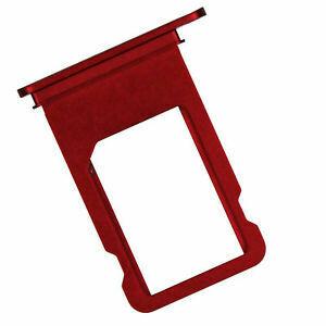 SIM Karten Schublade für iPhone 7 in Rot