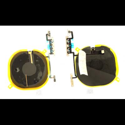 Drahtloser NFC Ladechip mit Strom, Volumentasten Flexkabel für iPhone X