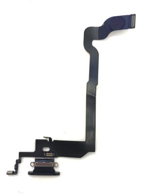 Lightning/Audio Connector Flex-Kabel in Schwarz für iPhone X