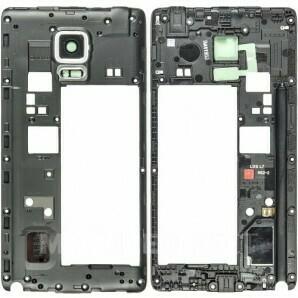 GH97-16721B Rear Cover in Schwarz für Samsung Galaxy Note Edge SM-N915FY
