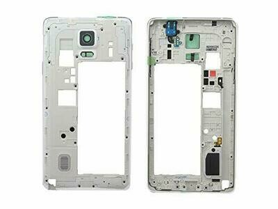 GH96-07639A Original Rahmen in Weiss für Samsung Galaxy Note 4 SM-N910F