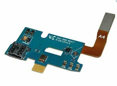 OEM Micro usb anschluss Mikrofon-Flex Kabel + Micro USB Connector für Samsung GT-N7100 Galaxy Note