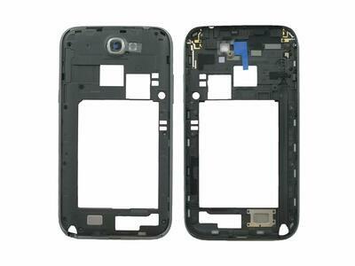 GH98-24442B Original Rear Case für Samsung Galaxy Note 2 GT-N7100 Dunkel Grau