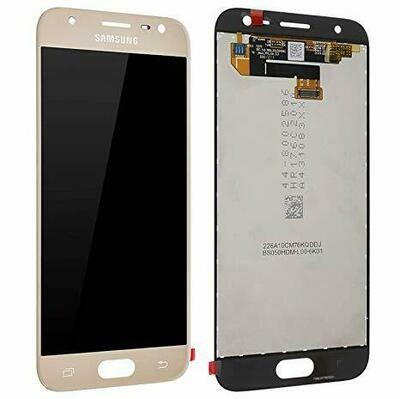 Original LCD Display in Gold für Samsung Galaxy J3/DS 2017 SM-J330F/DS