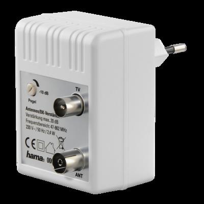 Hama BK/CATV-Verstärker, 20dB, regulierbar