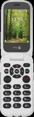 Doro 7060 4GB Schwarz-Weiss