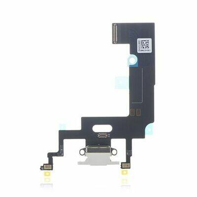 Ladeanschluss Flexkabel für iPhone XR Weiss