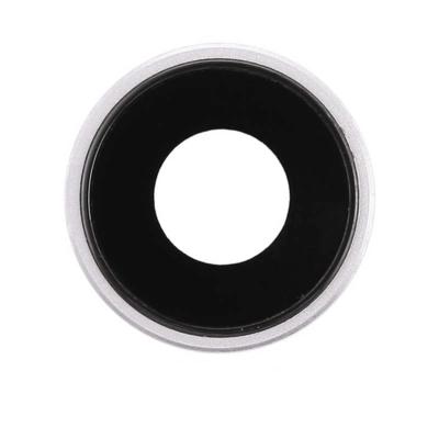 Rückfahrkameraobjektiv mit Rahmen für iPhone XR Weiss