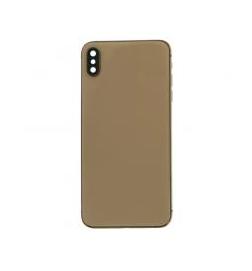 Mittlerer Rahmen mit Batterietür für iPhone XS Max Gold
