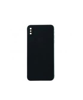 Mittlerer Rahmen mit Batterietür für iPhone XS Max Schwarz