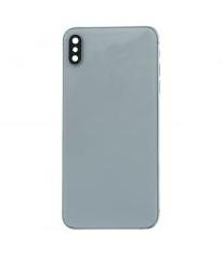 iPhone XS Max Backglass / Mittelrahmen Weiss