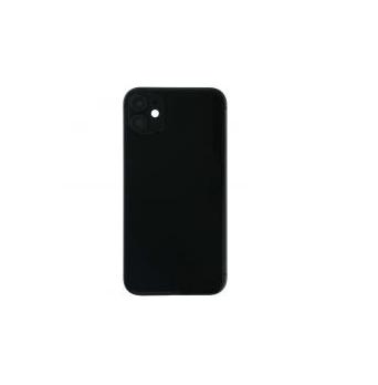 iPhone 11 Mittlerer Rahmen mit Batterietür für iPhone 11 Schwarz