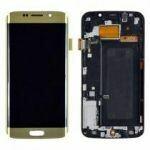 Samsung Galaxy S6 Edge Bildschirm Gold
