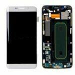 Samsung Galaxy S6 Edge Plus Bildschirm Weiss