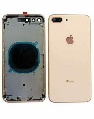 iPhone 7 Plus Alu Gehäuse / Mittelrahmen + Tasten-Set Pink