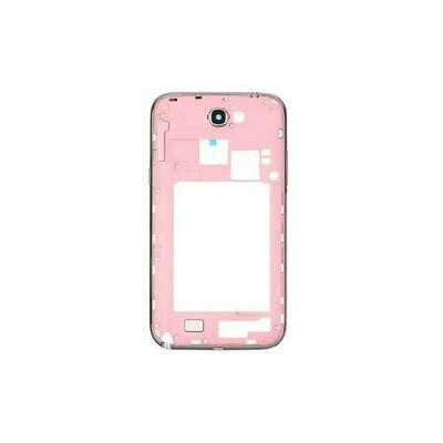 Mittlerer Rahmen für Samsung Galaxy Note II GT-N7100 Pink OEM