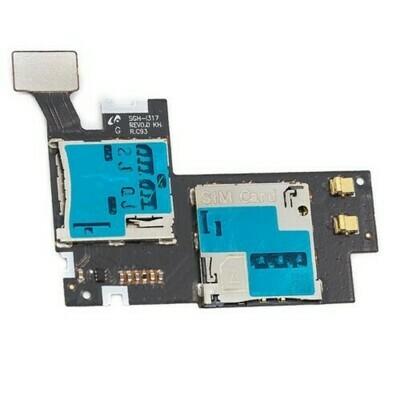 SIM-Kartenleser für Samsung Galaxy Note 2 N7100 Ori R.