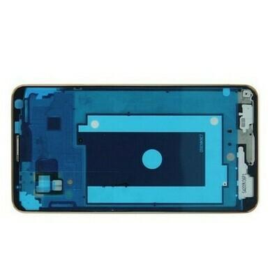 Vorderes Gehäuse für Samsung Galaxy Note 3 N900 Silber HQ