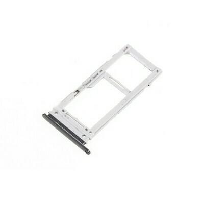 SIM-Tray für Samsung Galaxy S20 /5G Dual Card Version Silber
