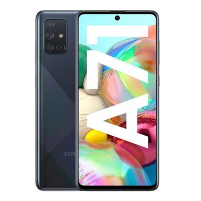 Galaxy A71 Dual SIM A715F 128GB Prism Crush Black