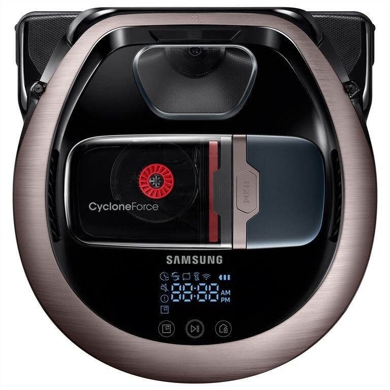 Samsung Staubsaugerroboter VR7200 10W, Cyclone Force, WiFi, Metallic
