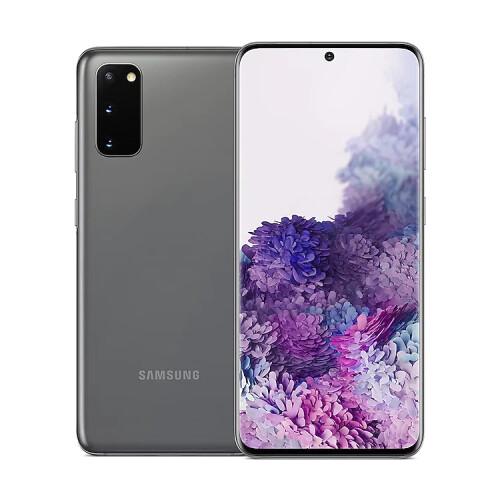 """Samsung Galaxy S20 5G (128GB, Cosmic Gray, 6.20"""", Hybrid Dual SIM + eSIM, 64Mpx, 5G)"""