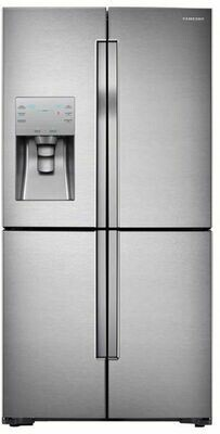 SAMSUNG Side by Side T9000, RF56, A++, 564L, French Door, Edelstahl