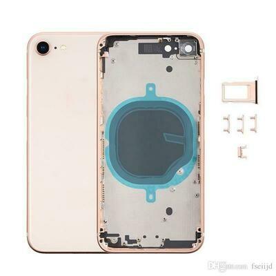 iPhone 8 Backcover Gehäuse Rahmen / Mittelrahmen + Tasten-Set