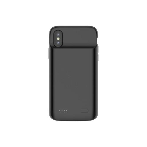 iPhone XS Max Akku Case (4000mAh) Schutzhülle - Schwarz