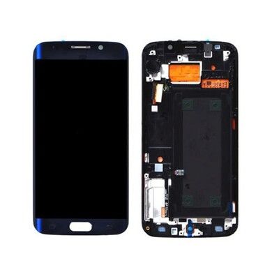 Samsung Galaxy S6 Edge Bildschirm Blau